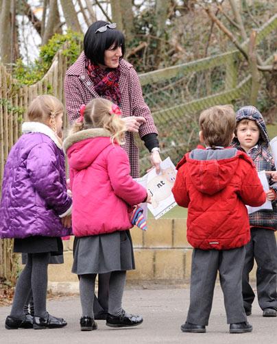 teacher-infants-outside